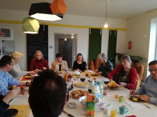 Geslaagd 1e kennisontbijt Starters Succes Oss Bernheze & Bizztopia